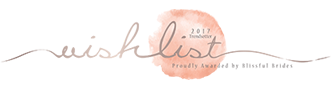 Blissful Bride's Wishlist Logo